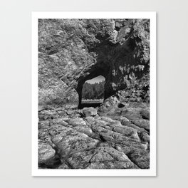 Hole In The Wall Canvas Print