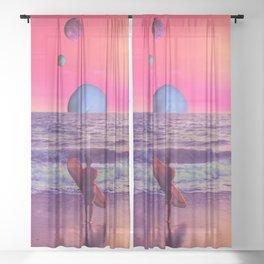 Summertime Sheer Curtain