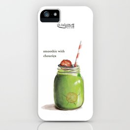 La Cuisine Fusion - Smoothie with Chouriça iPhone Case