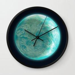 Pale Blue Dot Wall Clock