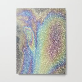 Double Spill Metal Print