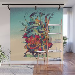 Moving Castle Wall Mural