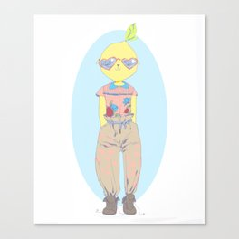 Make Lemonade Canvas Print