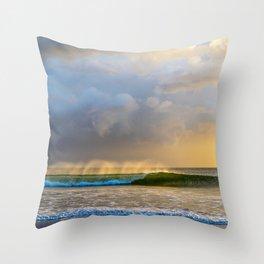 Wave of Wonder Throw Pillow