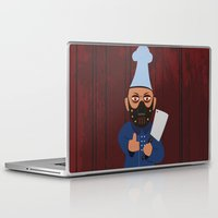 chef Laptop & iPad Skins featuring Chef Hannibal by Tonya Wilson Designs