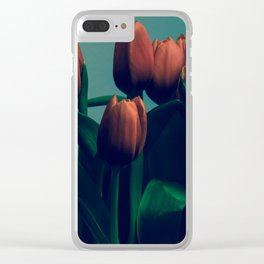 Tulips of Life Clear iPhone Case