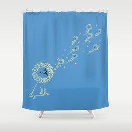Dande Lion Shower Curtain
