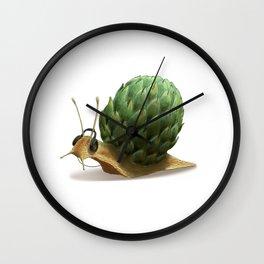 Snail DJ Wall Clock
