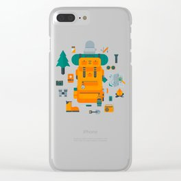 Adventuring Clear iPhone Case