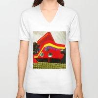 bauhaus V-neck T-shirts featuring BauHaus 1 by Marko Köppe