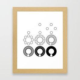 Powers Framed Art Print