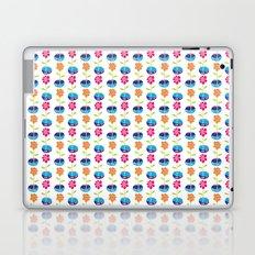 Fish Bowl Flowers Laptop & iPad Skin