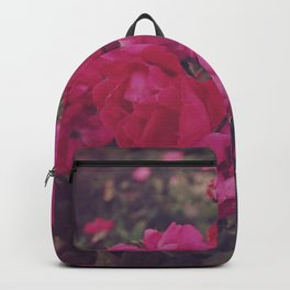 Faded Floral Backpack