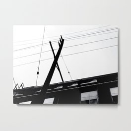 7th Street Static  Metal Print