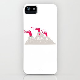 I Lava U iPhone Case