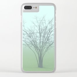 Forlorn Flamer Clear iPhone Case