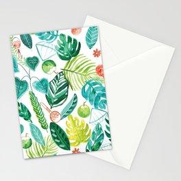 Tropical Monstera Maracas Stationery Cards