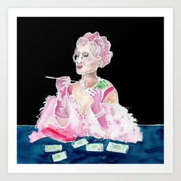 Milf Money Art Print