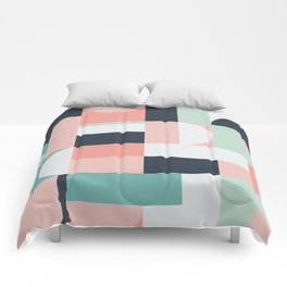 Abstract Geometric 08 Comforters