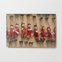Pinocchio Pinocchio Metal Print
