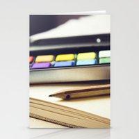 creativity Stationery Cards featuring Creativity by BURNEDINTOMYHE∆RT♥