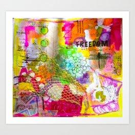 gentle joy Art Print