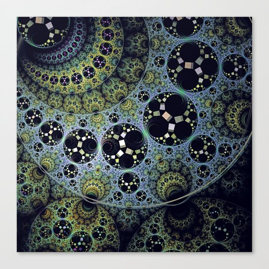 Miraculous patterns in circles Canvas Print