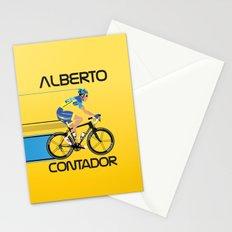 Alberto Contador Stationery Cards