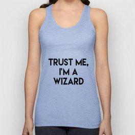 Trust me I'm a wizard Unisex Tank Top
