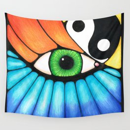 Philosophical Eye Wall Tapestry