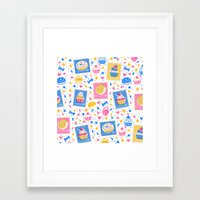 cupcakes Framed Art Prints featuring Cupcakes by Hui_Yuan-Chang