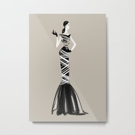 Fashionsketch 03 Metal Print