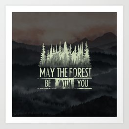 Be With You Art Print