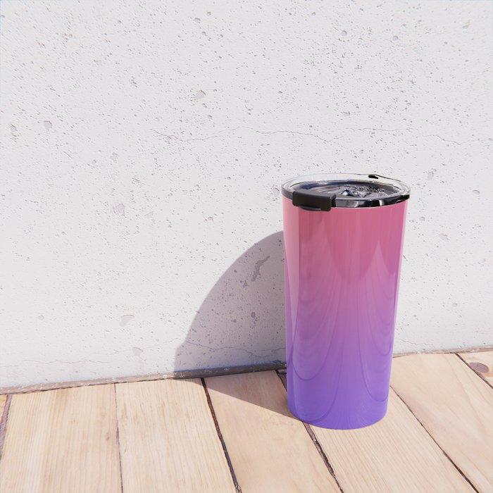 HALLOWEEN CANDY - Minimal Plain Soft Mood Color Blend Prints Travel Mug