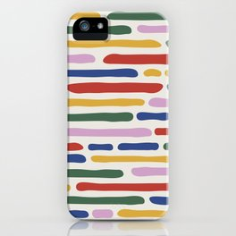 Seamless Summer Pattern iPhone Case