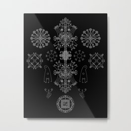 Stave Union Metal Print