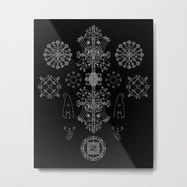 Stave Union Metal Print