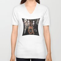 legolas V-neck T-shirts featuring kili,legolas,tauriel,the hobbit,lord of the rings by ira gora