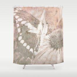 butterfly haze Shower Curtain
