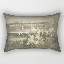 Vintage Garden Rectangular Pillow