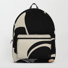 Black Hair No. 4 Backpack