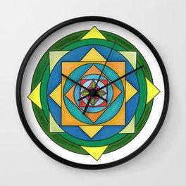 skyflower 6 Wall Clock
