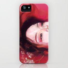Floral Bath iPhone Case