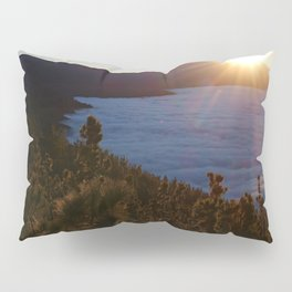 Sunset Canary Islands forest and Volcano Teide in Tenerife Pillow Sham