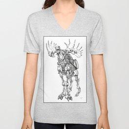 Motor Moose Unisex V-Neck
