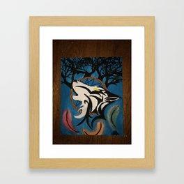 Dreams Of Fallen Spirits Framed Art Print