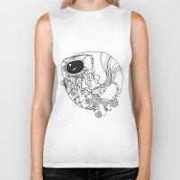 spaceman Biker Tanks featuring Spaceman by Xadrea