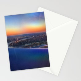 Flying Over NYC Stationery Cards