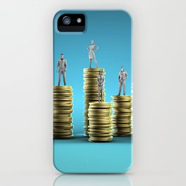 Wealth Management Services and Financial Solutions as Concept iPhone Case