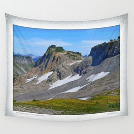 PTARMIGAN RIDGE IN LATE SUMMER GLORY Wall Tapestry